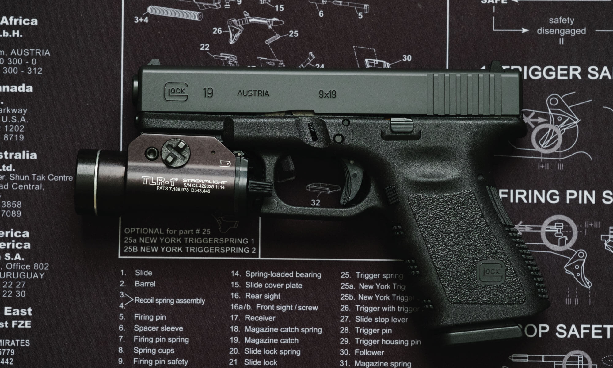 Go to Glock website